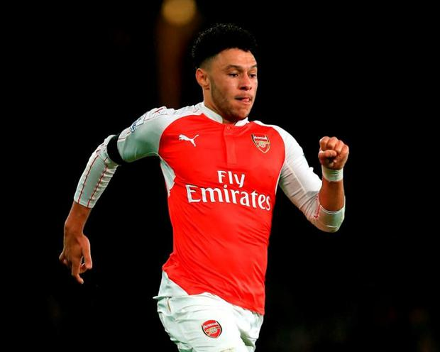 Arsenal midfielder Alex Oxlade-Chamberlain will miss six to eight weeks with a knee injury. Photo: John Walton/PA Wire.