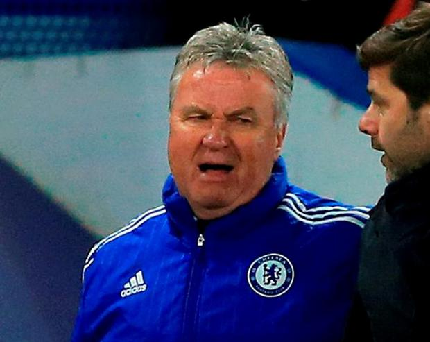 Guus Hiddink. Photo: John Walton/PA Wire.