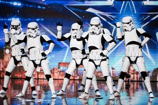 Boogie Storm during the audition stage for ITV1's talent show, Britain's Got Talent. SYCO/THAMES TV/PA Wire
