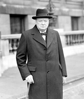 Winston Churchill had a difficult, ambivalent relationship with Ireland