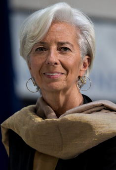 IMF managing director Christine Lagarde said she personally hoped that Britain would not vote to leave the EU Photo: Andrew Harrer/Bloomberg via Getty Images