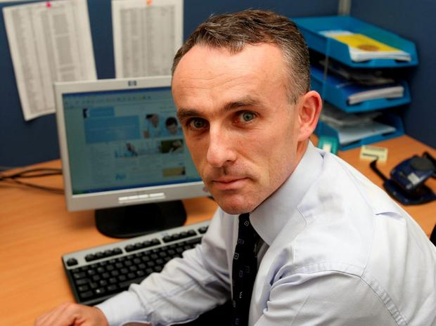 CHALLENGE: Irish Mortgage Corporation's Frank Conway. Photo: Mark Condren