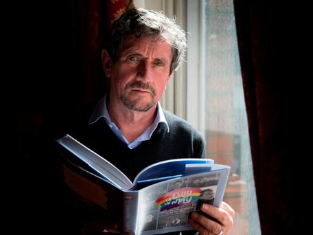 Journalist and author Charlie Bird. Photo: Colin O'Riordan