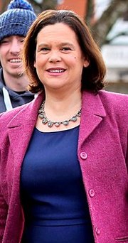 Sinn Fein's Deputy Leader Mary Lou McDonald Photo: Steve Humphreys