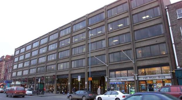 The Setanta Centre in central Dublin is likely to be redeveloped if it is sold