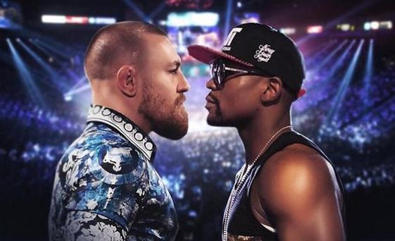 Conor McGregor and Floyd Mayweather Jr appear to be angling for a fight