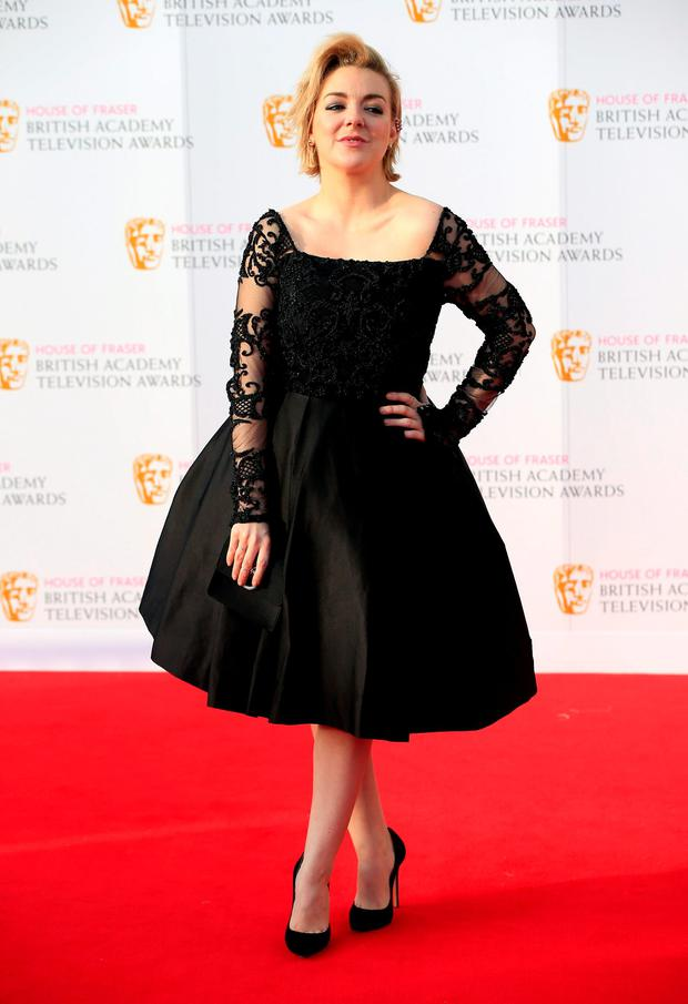 Sheridan Smith attending the House of Fraser BAFTA TV Awards 2016 at the Royal Festival Hall, Southbank, London.