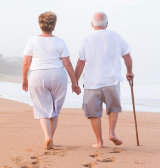 'Older people should enjoy life and not care about what other people think' Photo: Depositphotos