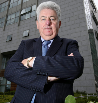 James Menton, chair of the St Vincent's Healthcare Group Photo: Frank McGrath