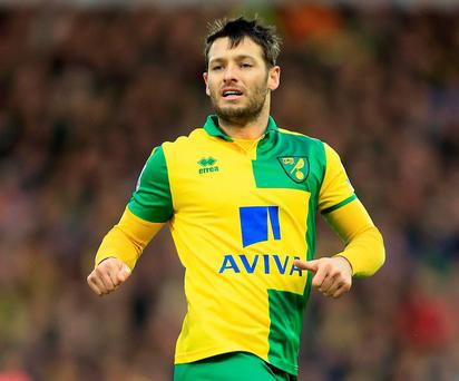 Norwich City's Wes Hoolahan. Photo: Stephen Pond/Getty Images