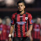 Longford Town's Kaleem Simon. Photo: Ramsey Cardy / Sportsfile