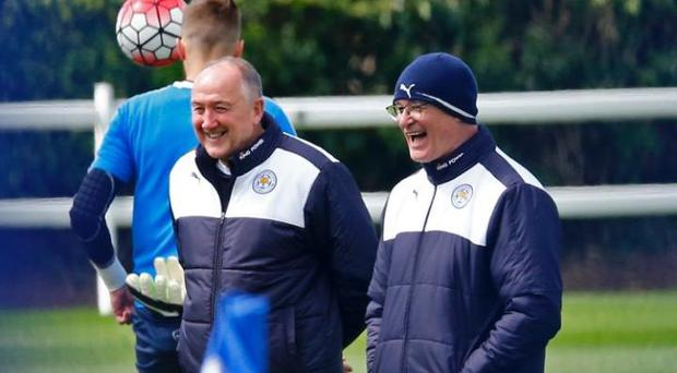 Leicester look set to lose Steve Walsh (left) as their head of recruitment Credit: REUTERS