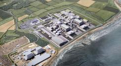 An artist's impression of Hinkley Point C. Photo: HayesDavidson/EDF/PA