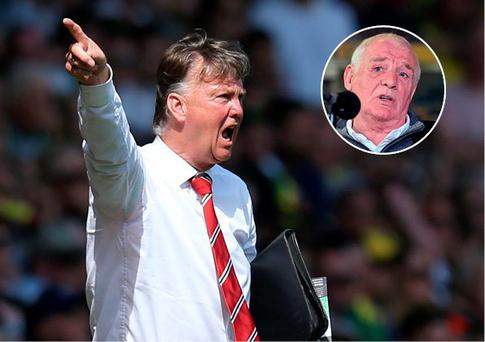 Managers like Louis van Gaal are ruining the game according to Eamon Dunphy