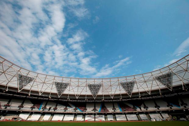 The Olympic Stadium. Photo: PA