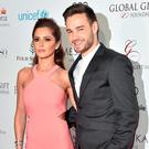 (L-R) Cheryl Fernandez-Versini and Liam Payne attend the Global Gift Gala Photocall at the Hotel Georges V on May 09, 2016 in Paris, France