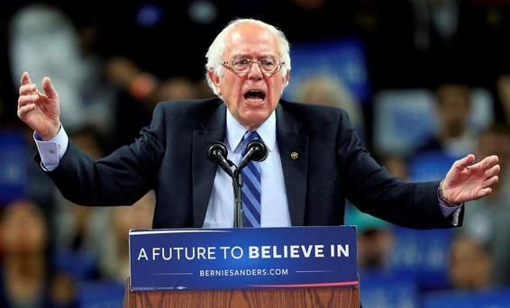 Sen. Bernie Sanders: 'If this permit is approved, it would open the door to the same model that decimated the US shipping industry.' (AP Photo/Mel Evans)