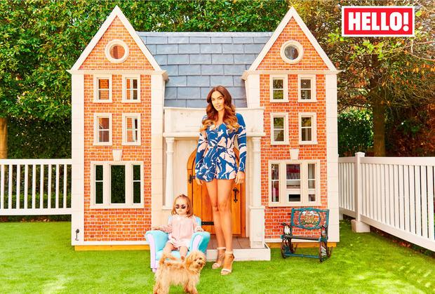 Tamara Ecclestone features on the front cover of the latest edition of Hello! Magazine. Picture: Hello! Magazine/PA Wire