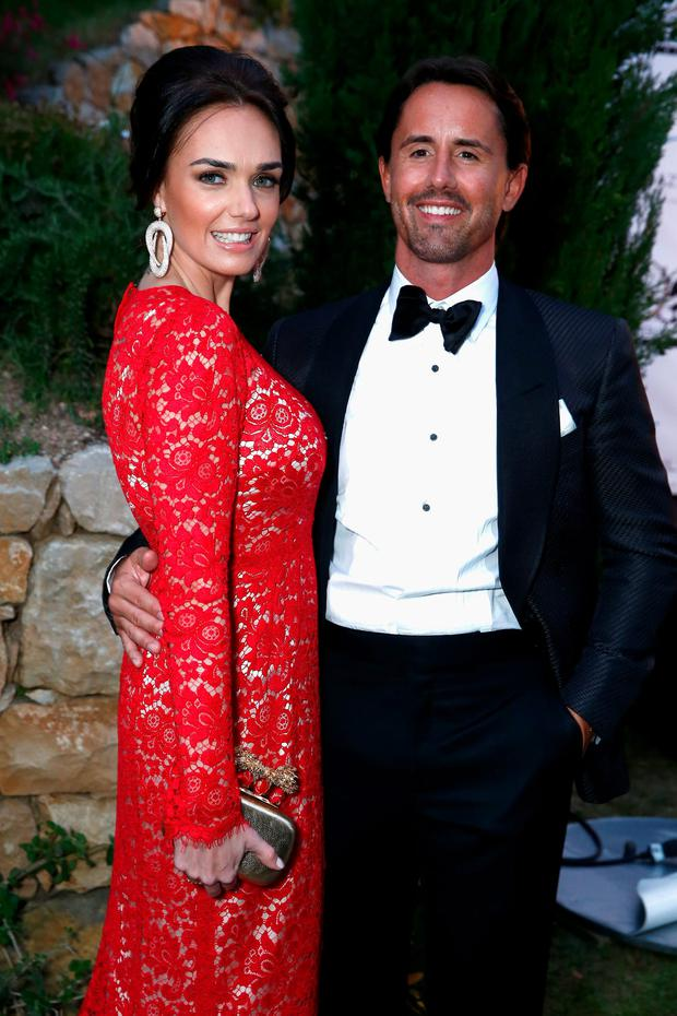 Tamara Ecclestone and Jay Rutland attend the Puerto Azul Experience at the 67th Annual Cannes Film Festival on May 21, 2014 in Cannes, France. (Photo by Andreas Rentz/Getty Images)
