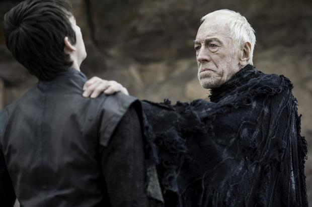 Bran and the Three-Eyed Raven. Photo: HBO