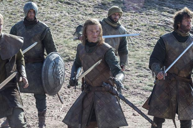 A young Ned Stark makes an appearance in Game of Thrones. Photo: HBO