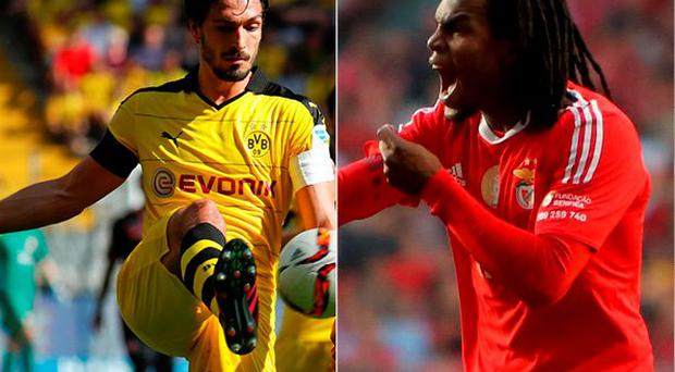 Mats Hummels and Renato Sanches have signed for Bayern Munich