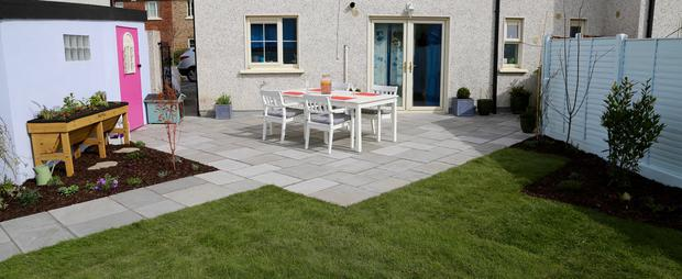 Rachel Gerrard, garden designer from Dublin, pushed forward with her plans to create a 'Culinary Chic' garden for Tyrellstown couple Laura Omer and Tony Byrne