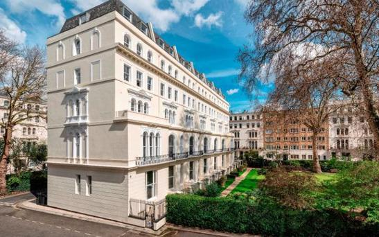 Apartments in Kensington Garden Square in Bayswater are now on the market