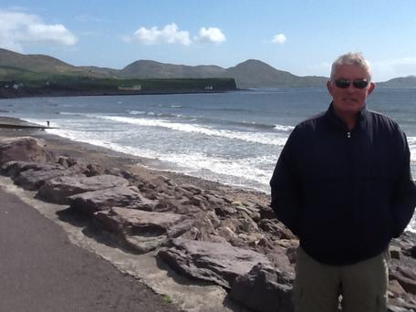 Dr Marty Holland, a retired lecturer from Mary Immaculate College will couch-surf from county to county in memory of his friends Michael and John who lost their battle with the disease.