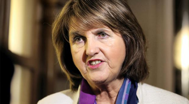 Joan Burton. Photo: Frank Mc Grath