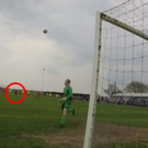 How did the match official not see this goal? Credit: TheMarkAshmore/Youtube