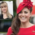 Kate Middleton and (inset) is Jane Taylor