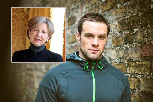 Niall Breslin and (inset) Olivia O'Leary have both opened up about their mental health