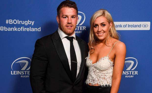 Sean O'Brien and Georgia McGurk at the Leinster Ball. Picture: Sportsfile