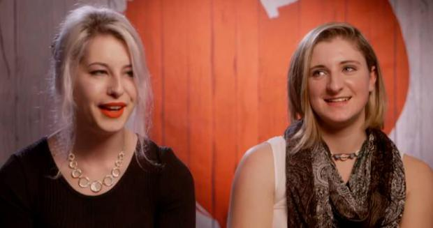 Dawn and Alannah Rose on First Dates Ireland