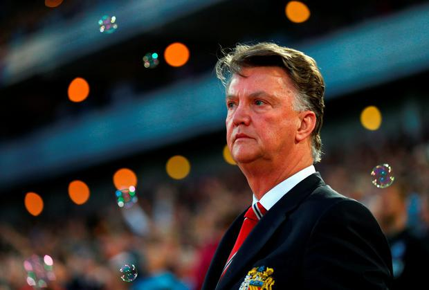Louis van Gaal says the Manchester United board will decide if he remains as manager