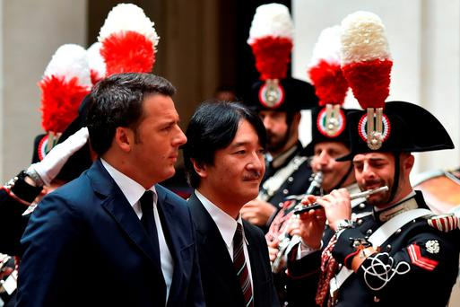 Prime Minister Matteo Renzi (left). Photo: Getty Images