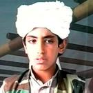 Bin Laden hoped his son Hamza would eventually succeed him (file image)