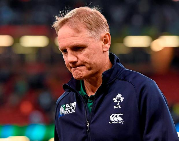 Joe Schmidt must guide Ireland through a testing schedule of matches if Ireland are to retain a top-eight seeding for the 2019 World Cup, where they will hope to atone for the disappointment of losing in the quarter-finals last year. Photo: Brendan Moran / Sportsfile