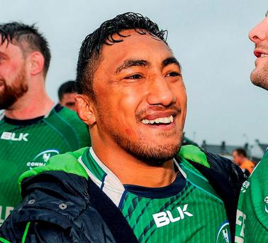 Connacht's Bundee Aki. Photo: Seb Daly / Sportsfile