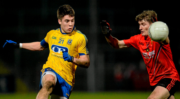Rosommon's Conor Daly, seen here against Down last year, has opted out of playing for the county in the Championship. Photo: Oliver McVeigh/Sportsfile