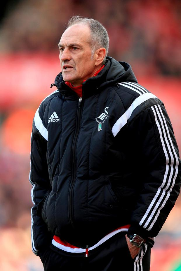 Francesco Guidolin. Photo: Mike Egerton/PA Wire