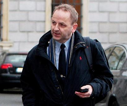 Sergeant Maurice McCabe: his claims were central to Mr Callinan's downfall (Picture: Tom Burke)