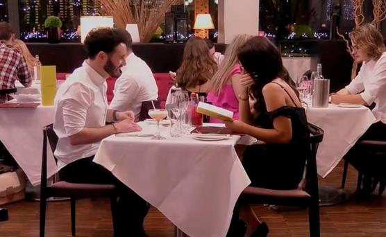 Brian and Sarah on First Dates Ireland