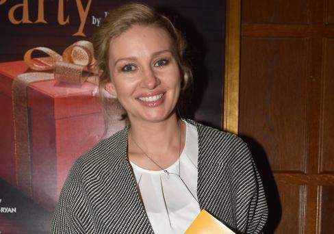 Anna Daly arrive at the opening night of Driving Miss Daisy at The Gaiety Theatre, Dublin, Ireland - 10.05.16. Pictures: Cathal Burke / VIPIRELAND.COM