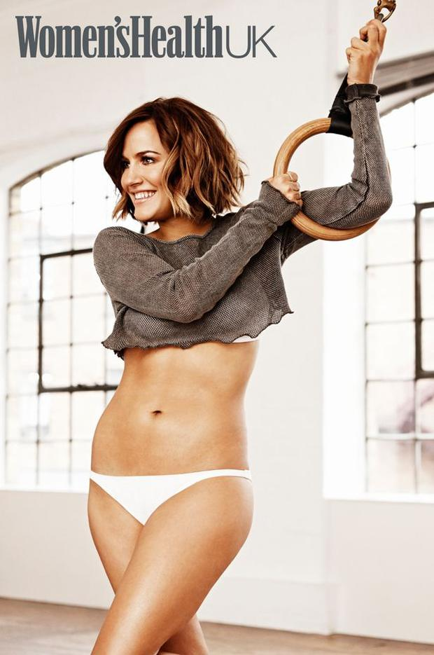 Caroline Flack revealed to Women's Health magazine how she dropped two dress sizes. Photo: Women's Health