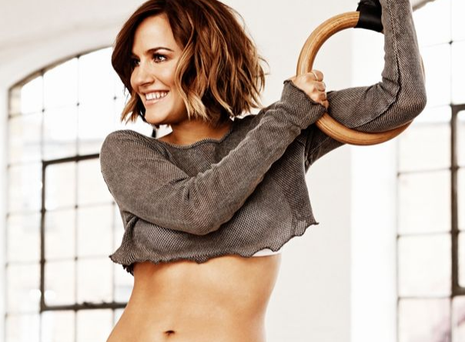 Caroline Flack shows off her toned physique in the June issue of Women's Health magazine. Photo: Women's Health