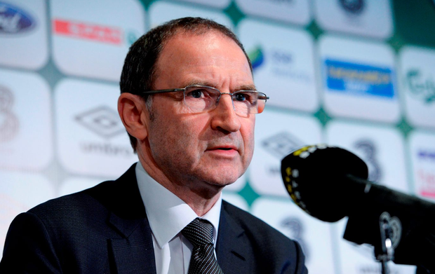 The Republic of Ireland manager Martin O'Neill. Photo: Sportsfile
