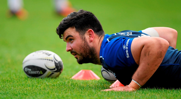 Leinster's Mick Kearney during squad training at the RDS, Ballsbridge. Photo: Sportsfile