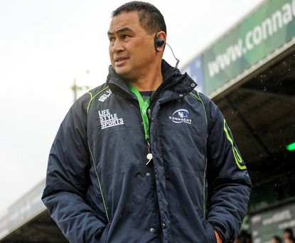 Pat Lam's men will be playing to a capacity crowd at the Sportsground tomorrow week. Pihoto: Seb Daly/Sportsfile